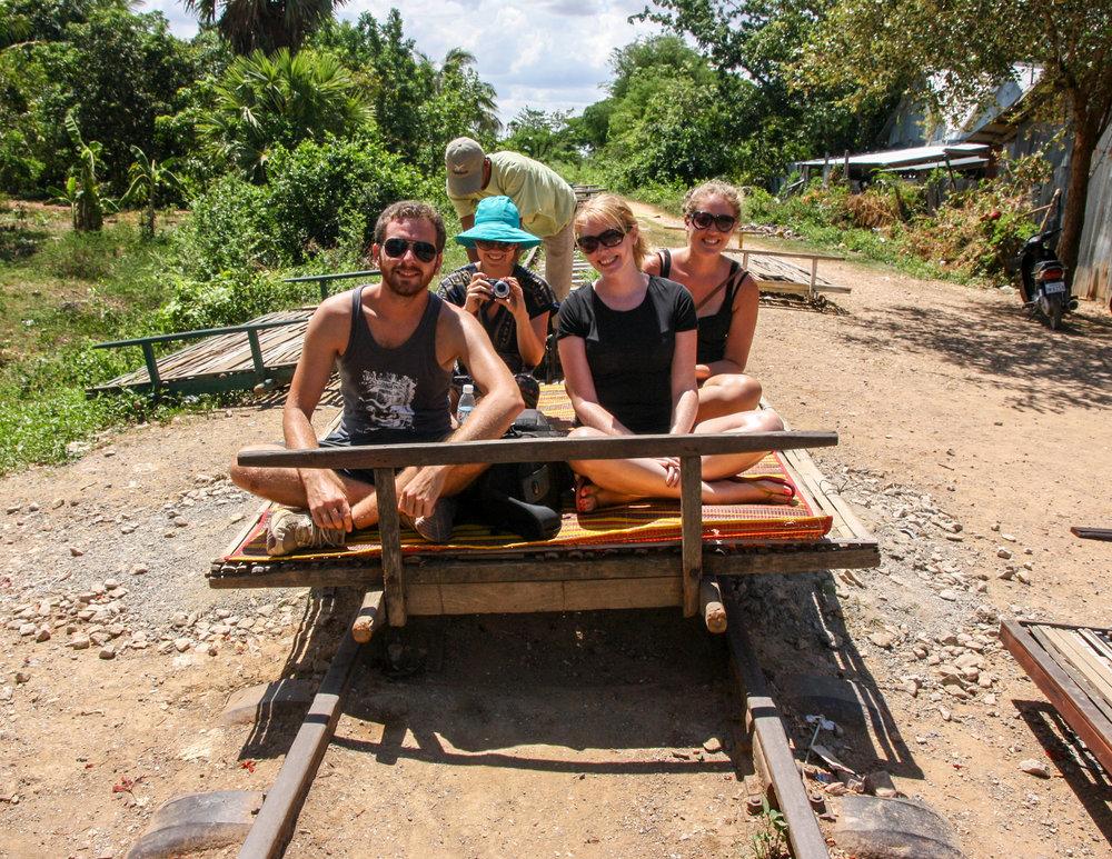 Cambodia Itinerary: Bamboo Train