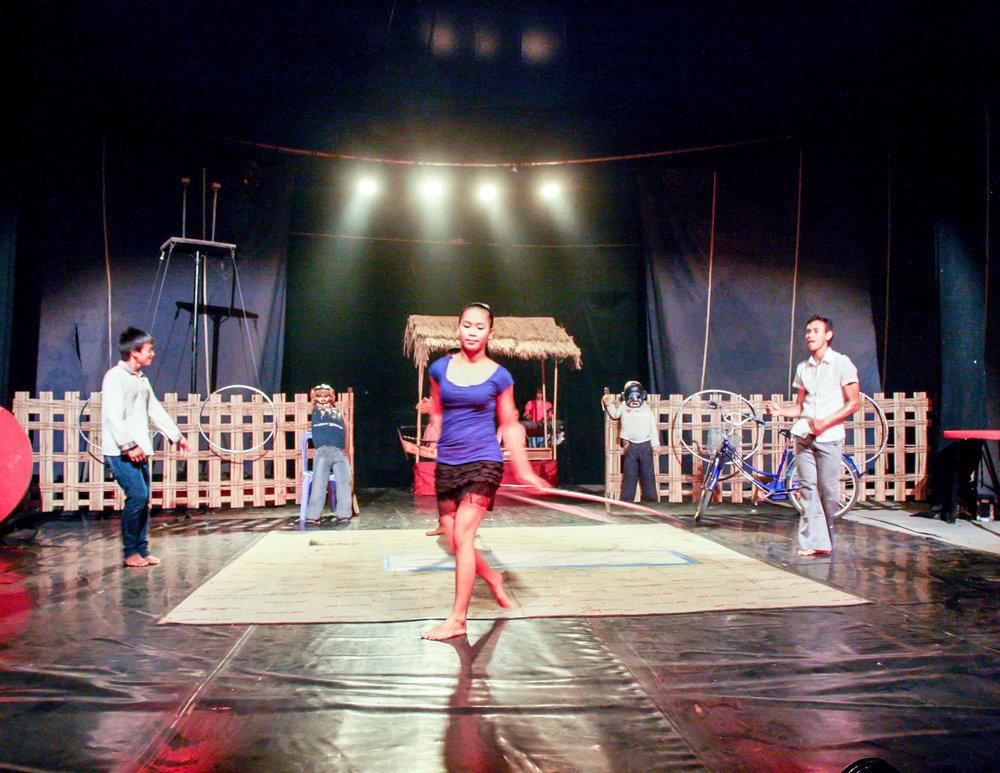 Cambodia Itinerary: Phare Ponleu Selpak (Circus)