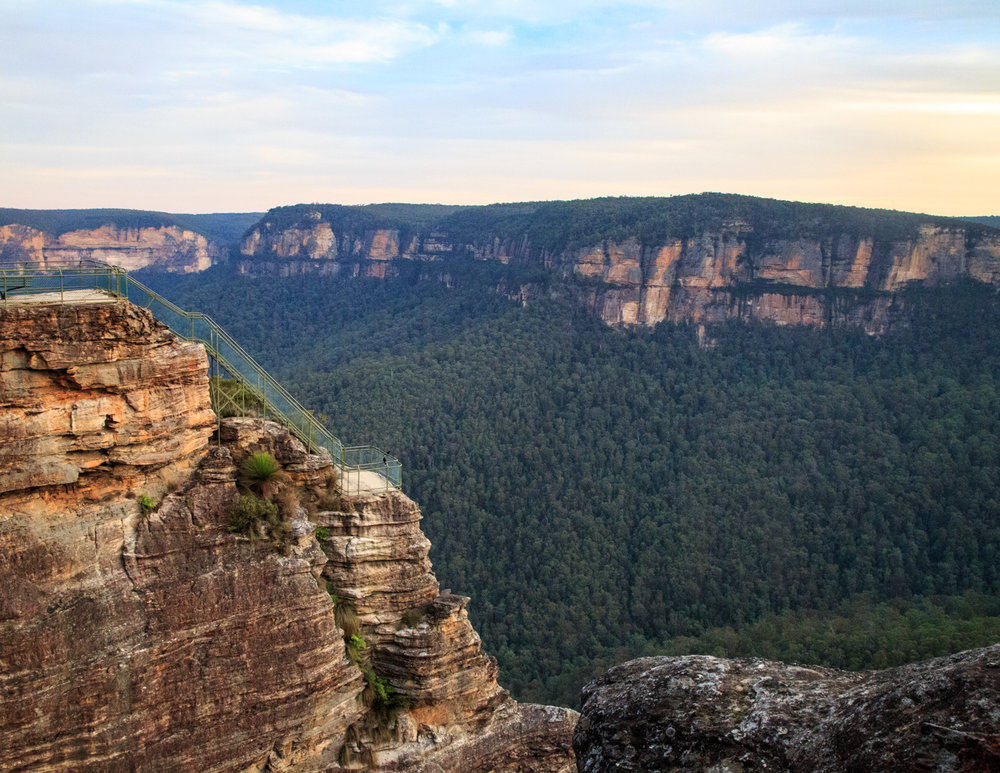 Best lookouts in the Blue Mountains: Pulpit Rock