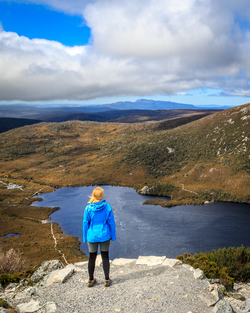 Two weeks Tasmania itinerary: Cradle Mountain Marions Lookout
