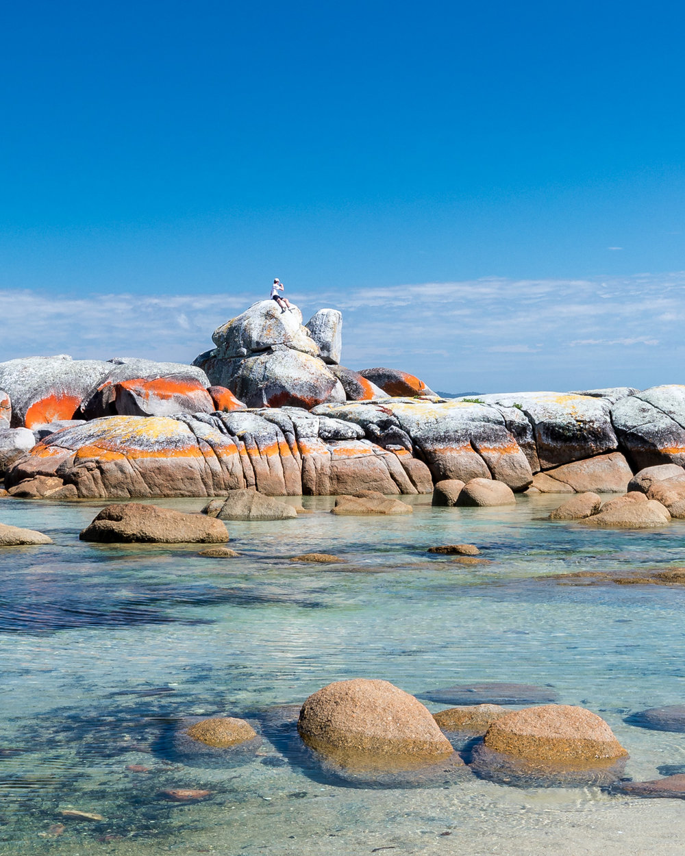 Two Weeks Tasmania Itinerary: Bay of fire