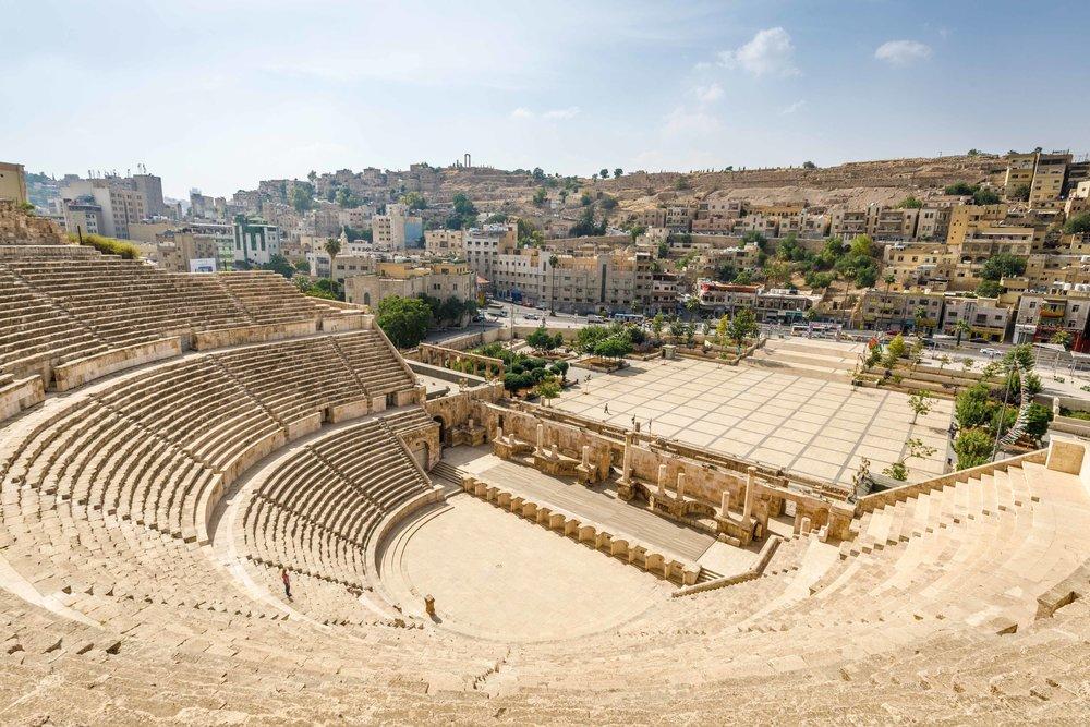 The Roman Amphitheatre Amman