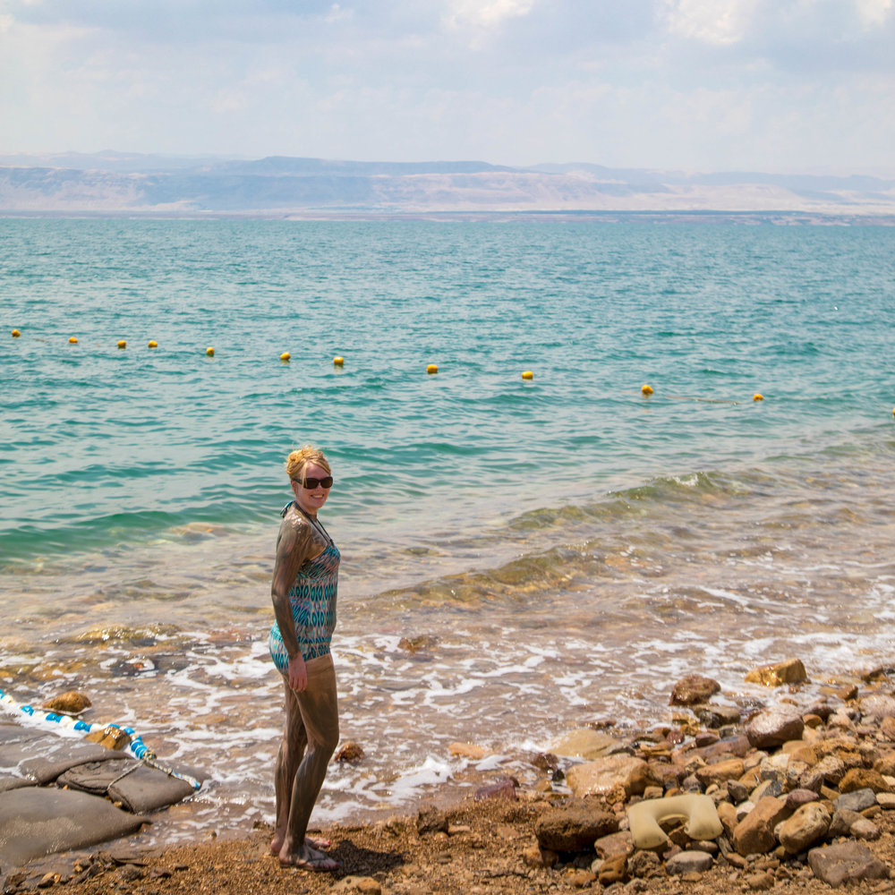 Things to do in the Dead Sea: Mud up!