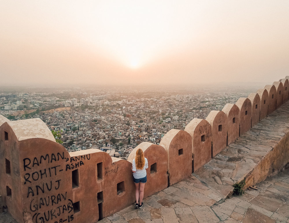 Nahargarh Fort Sunset Point