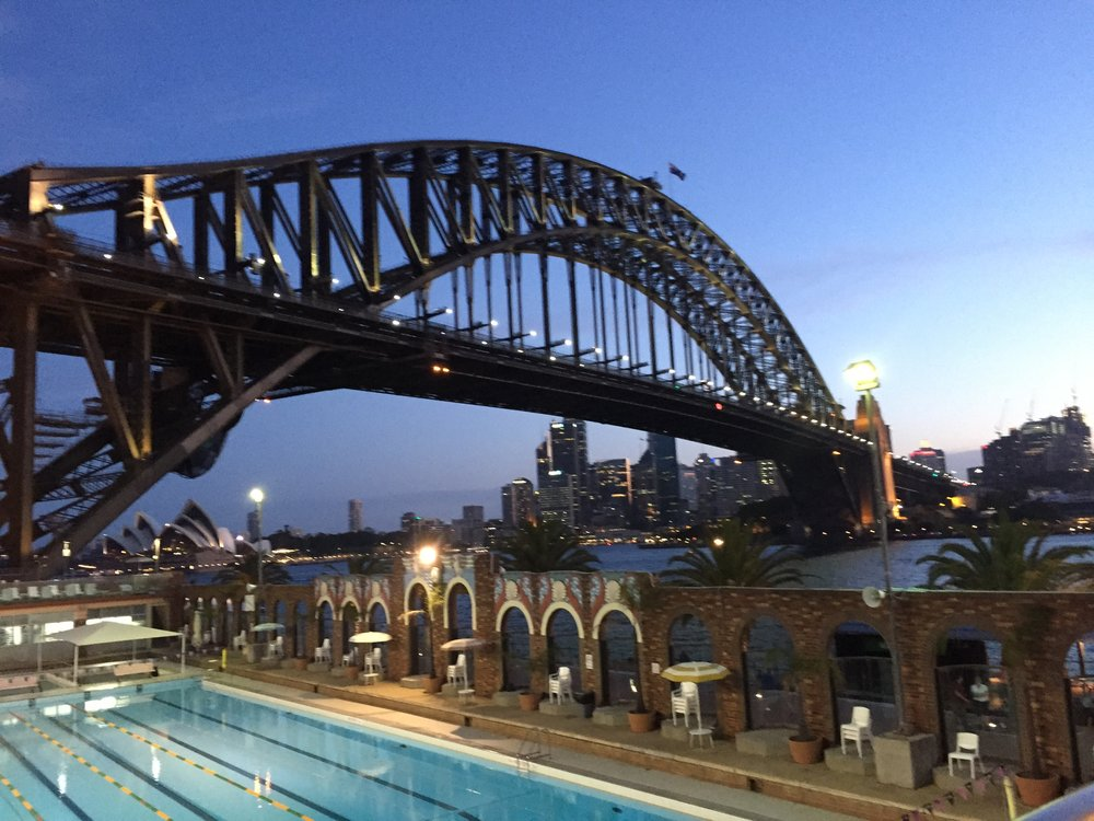 Cheap things to do in Sydney: swim with a view!