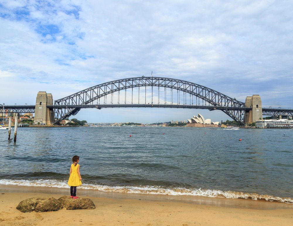 Best views of the Sydney Harbour Bridge - McMahons Point