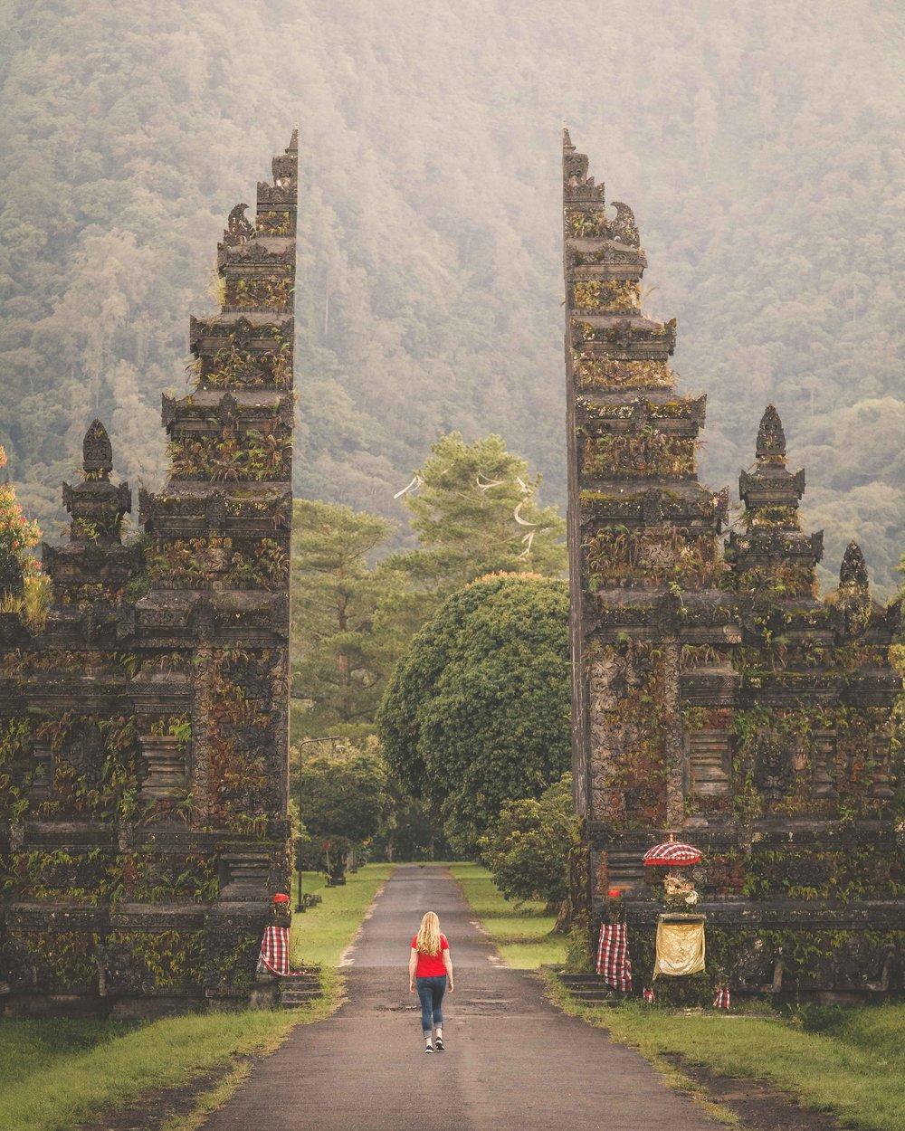 Most Instagrammable Spots in Bali - Handara Gate