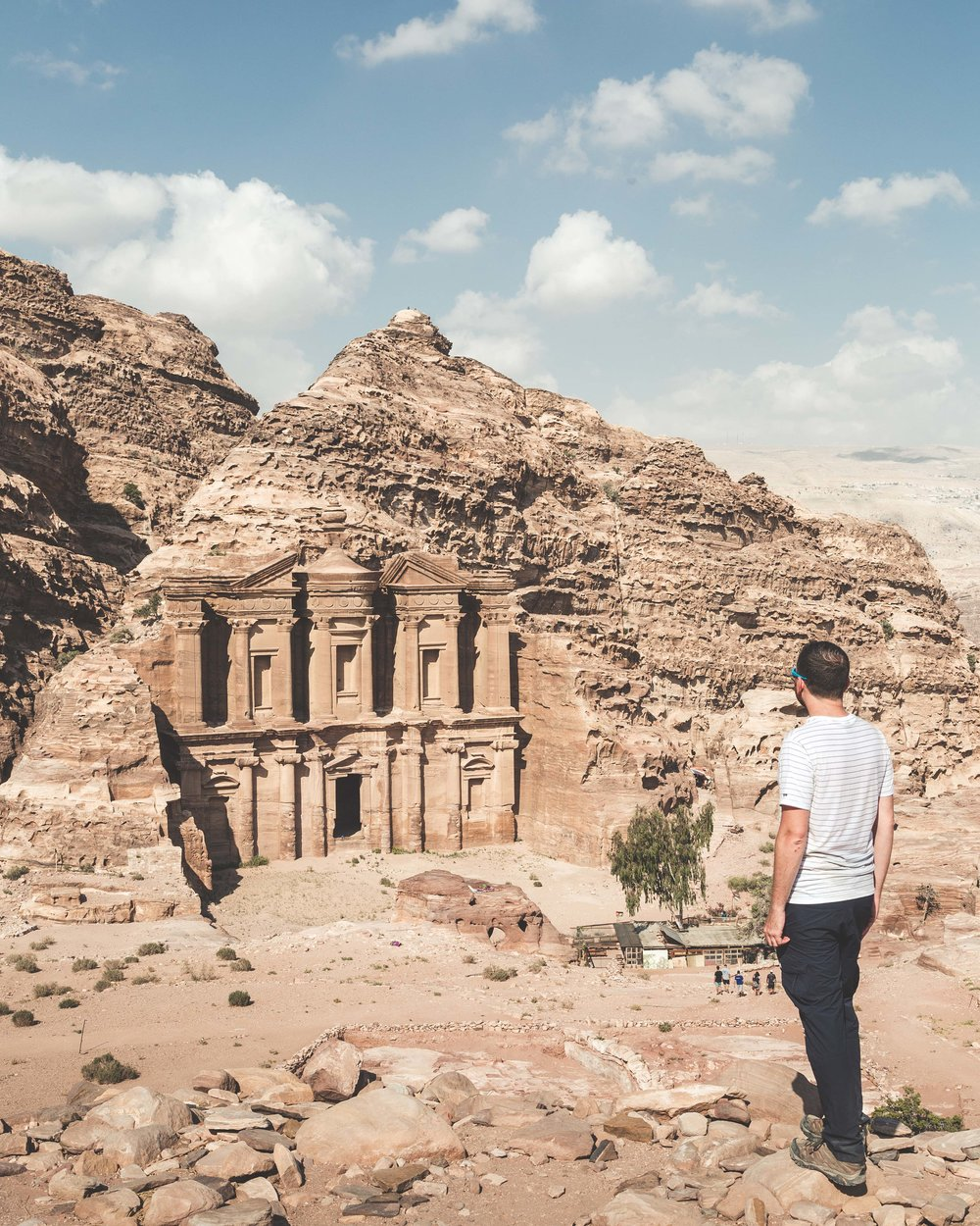 Instagrammable spots in Jordan - The Monastery, Petra