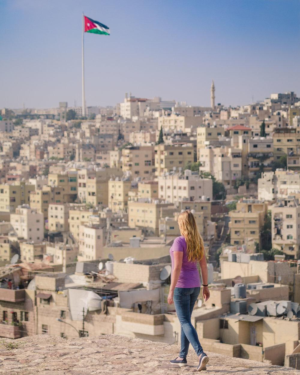 Instagrammable Jordan - City Skyline of Amman