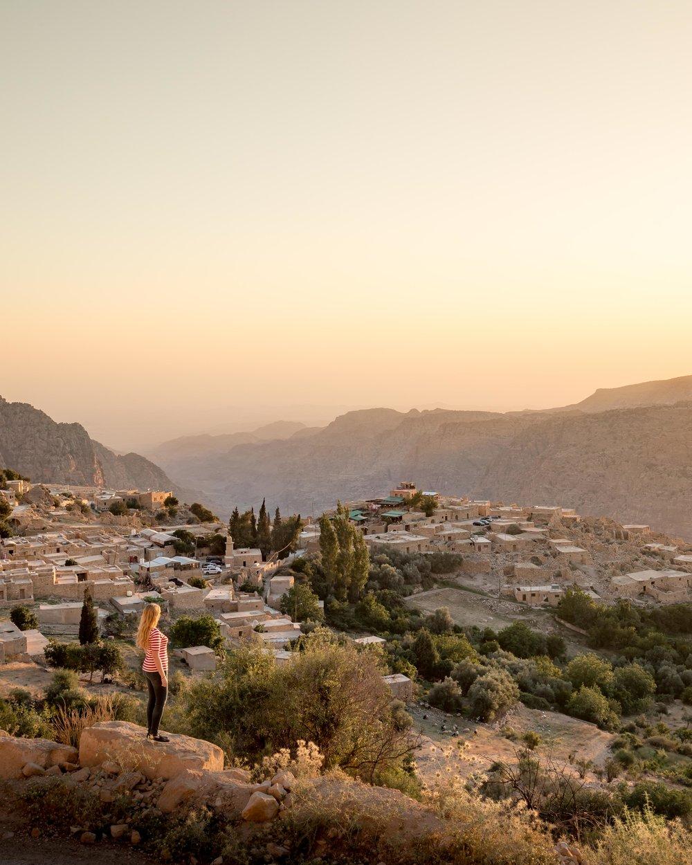 Instagrammable Jordan - Dana Village