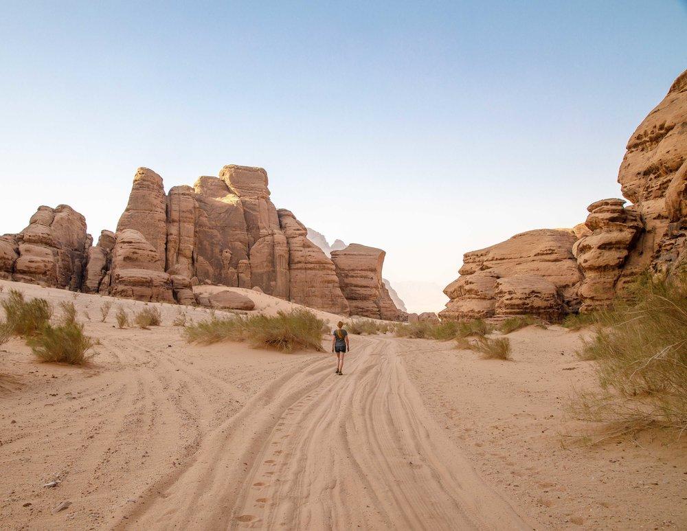 Wadi Rum Walks