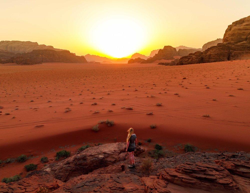 Wadi Rum Sunset