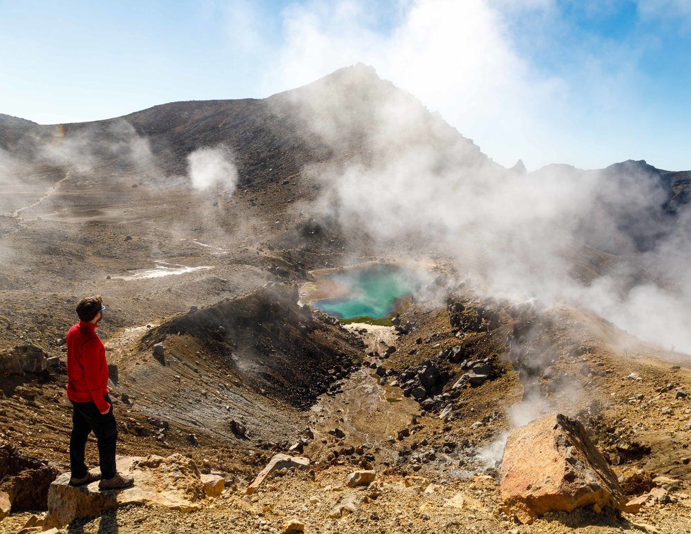 The most challenging Great Walk of New Zealand: Tongariro Northern Circuit