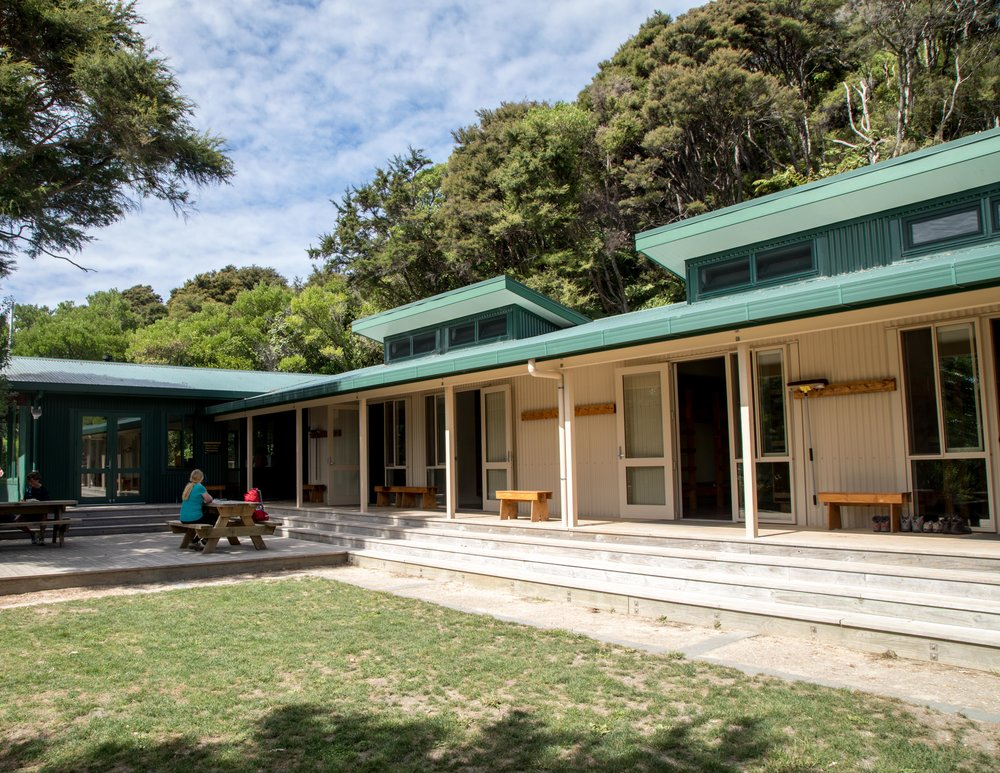 The Great Walks with the best huts: Abel Tasman