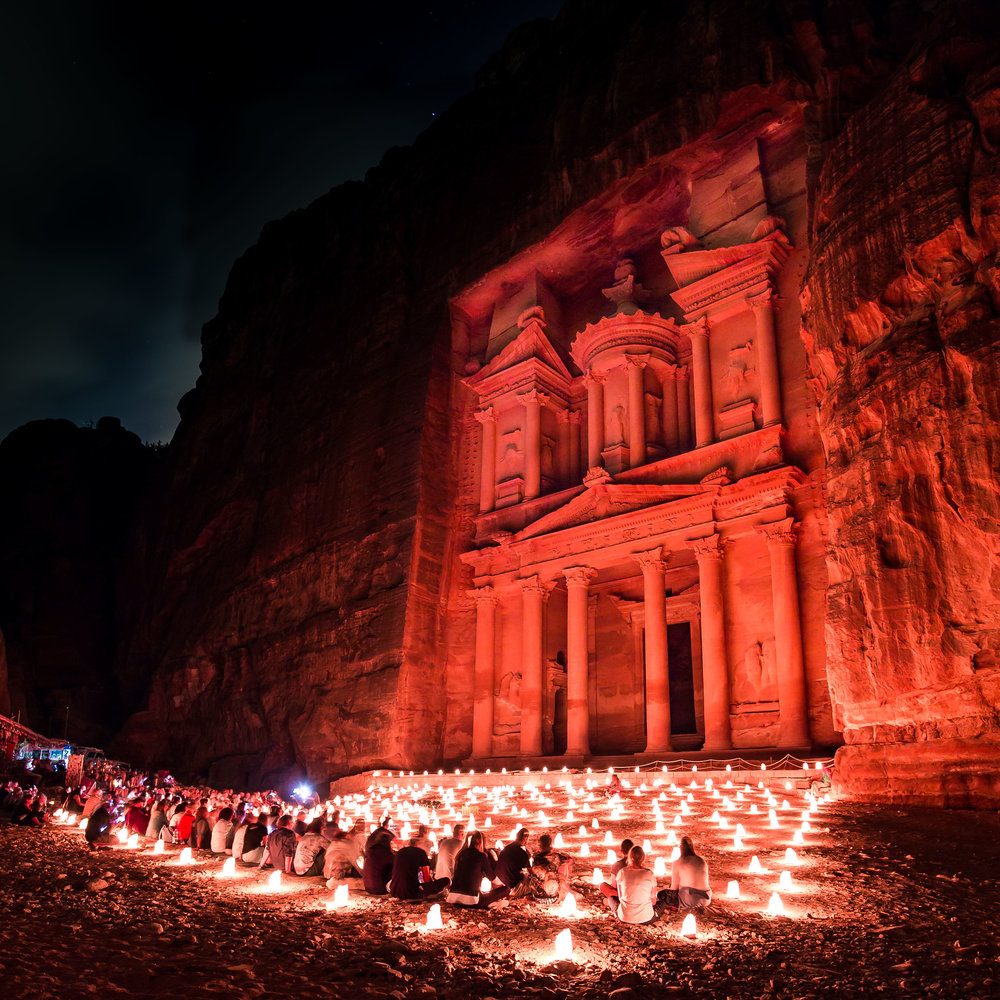 Petra By Night Photography Tips