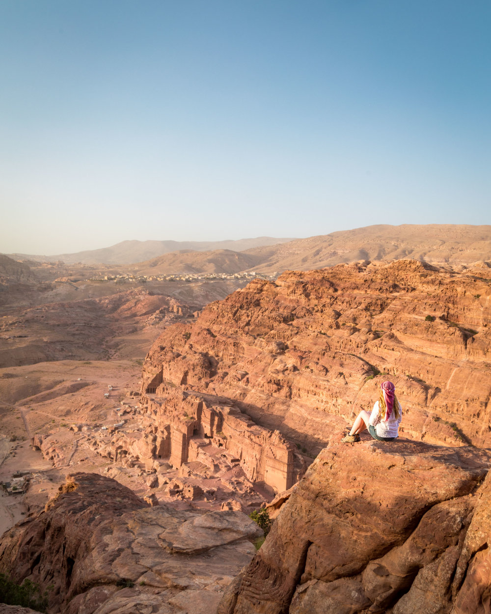 Instagrammable spots in Jordan - The High Place of Sacrifice