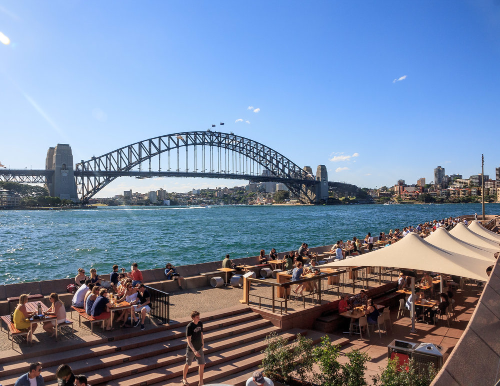 Best things to do in Sydney CBD: Take in the view from Opera Bar
