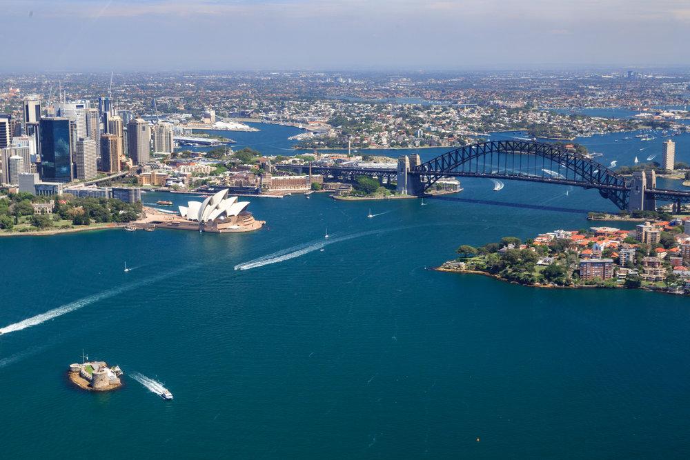 Winter in Sydney: Sydney Harbour