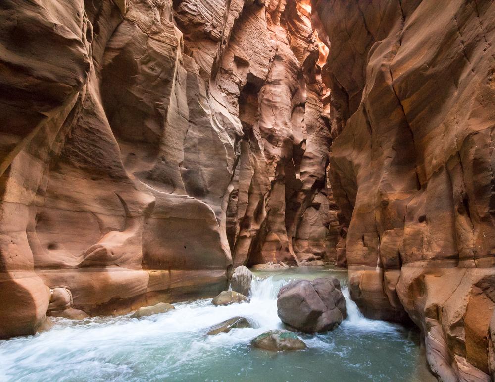 Places to visit in Jordan - Wadi Mujib