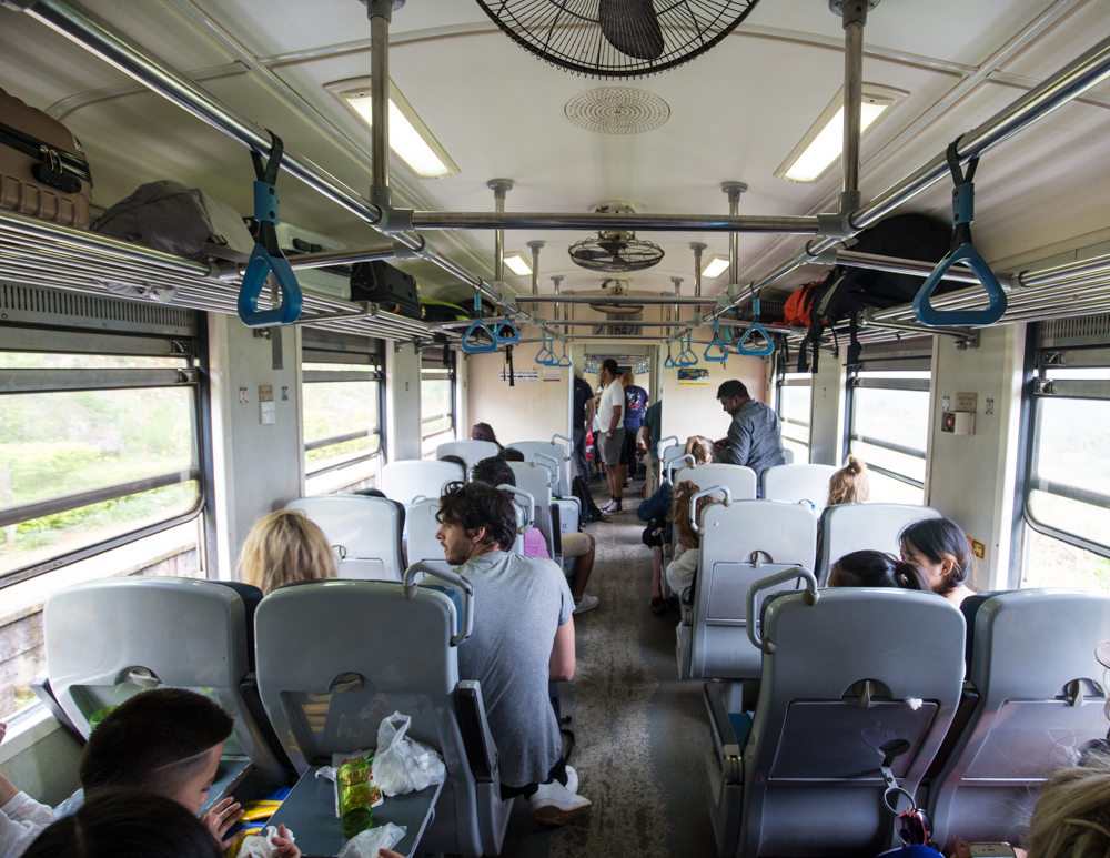 Kandy to Ella Train Stops: Second Class
