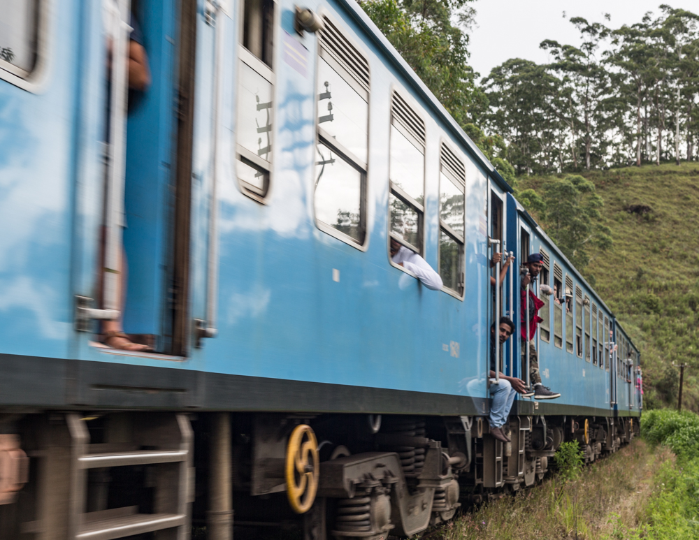 Kandy to Ella Train Time: Second Class
