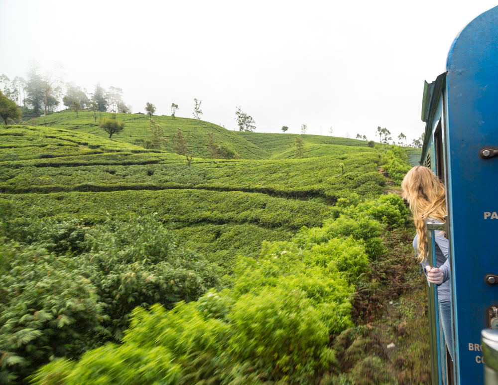 Kandy to Nuwara Eliya Train: Where to sit