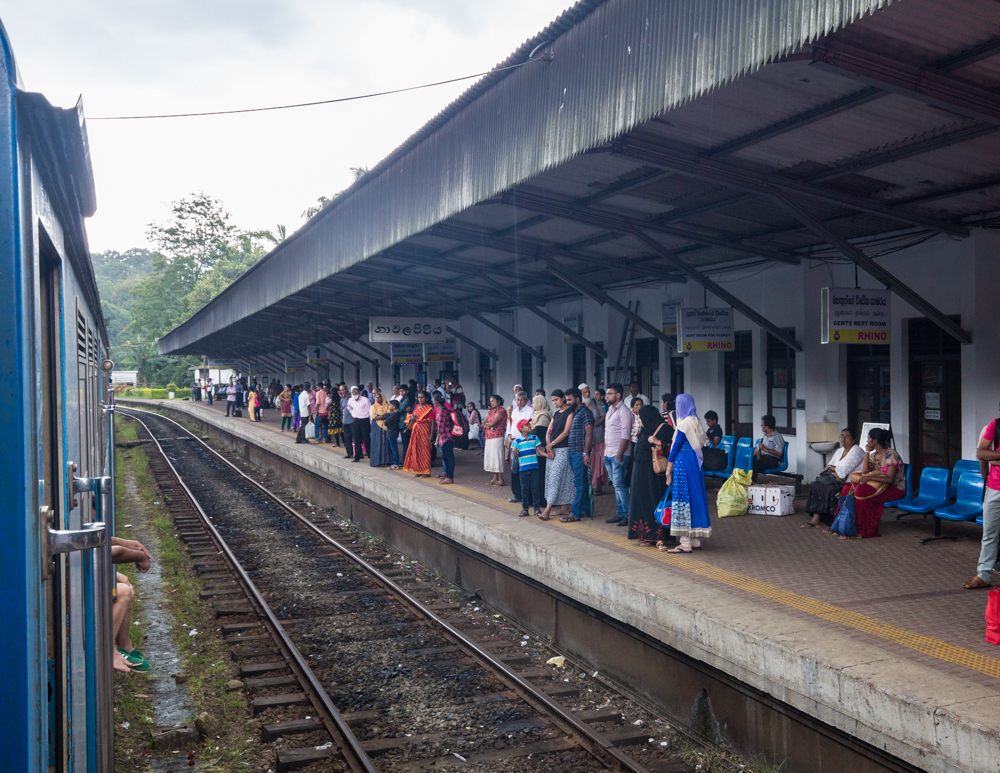 Kandy to Nuwara Eliya Train Duration