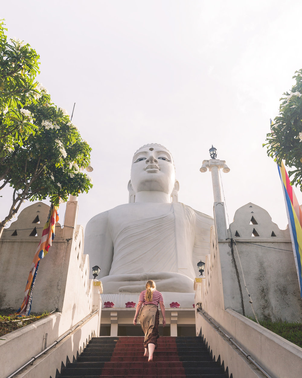 Instagrammable Sri Lanka - Big Buddha Kandy