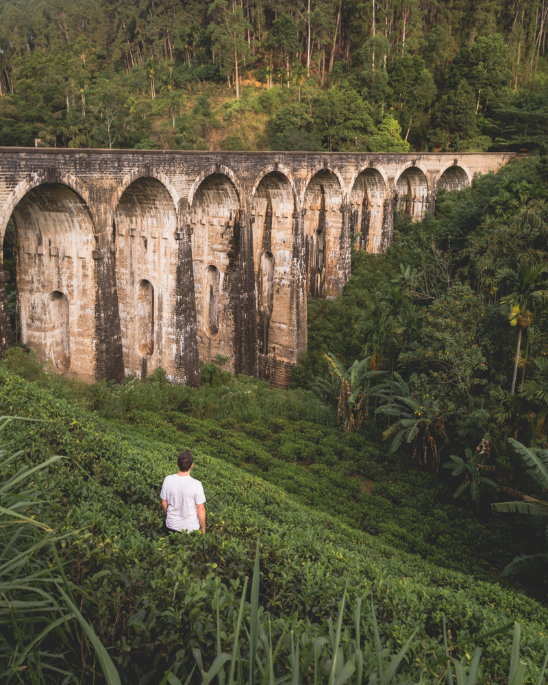 Instagrammable spots in Sri Lanka - Nine Arch Bridge
