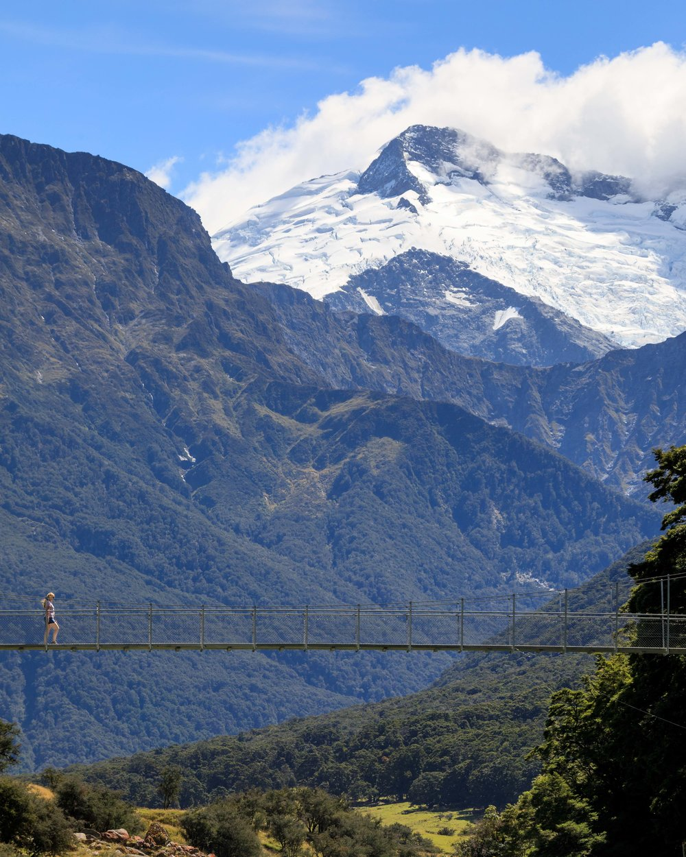2 week New Zealand South Island Itinerary: Rob Roy Glacier Track