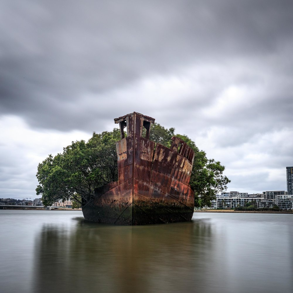 Photography Spots in Sydney: SS Ayrfield