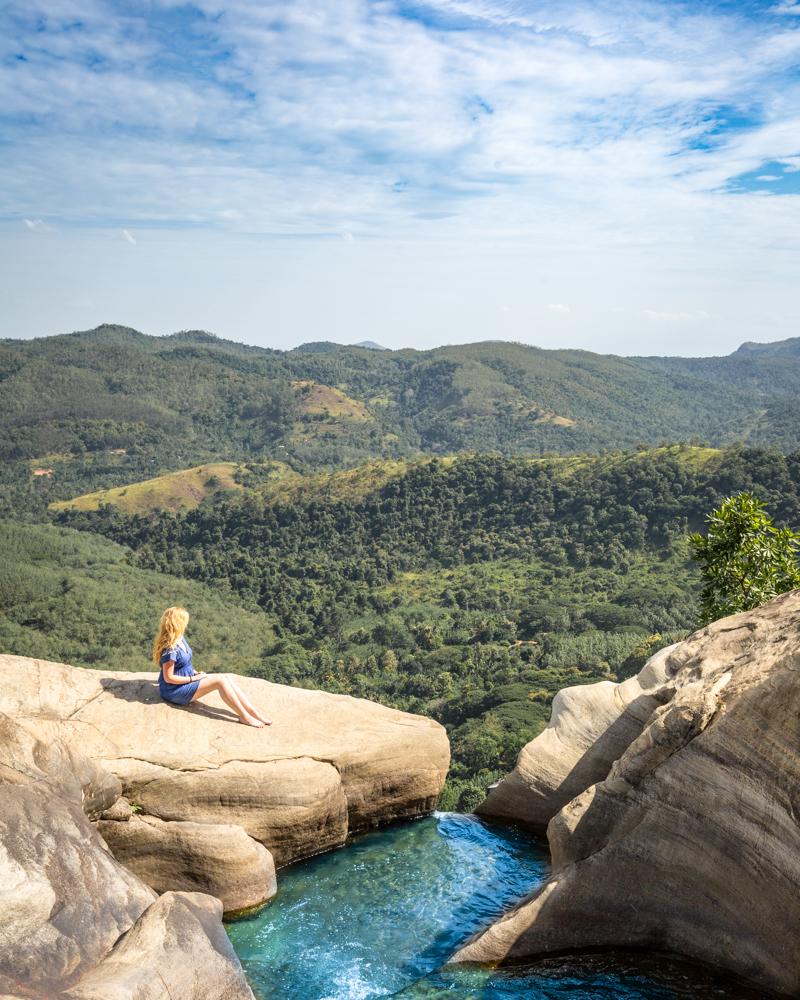 Sri Lanka 2 week itinerary - Diyaluma Falls