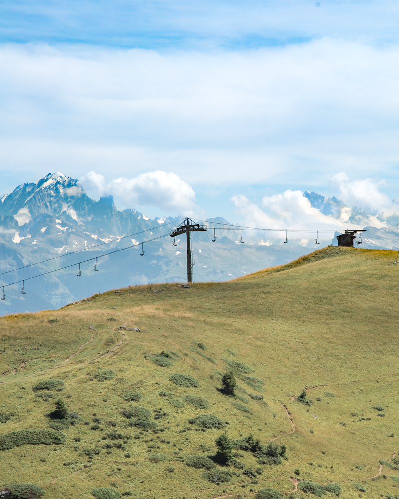 Things to do in Morzine in Summer - Mont Blanc Views