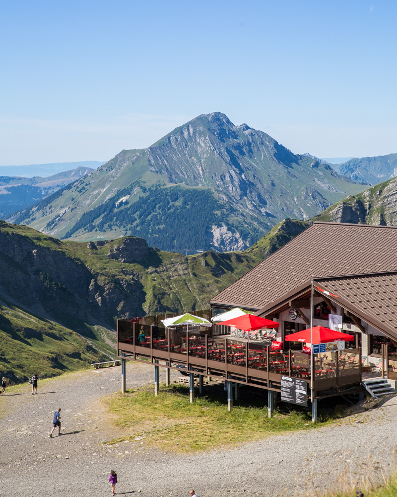 Things to do in Morzine in the Summer - Have a coffee with a view