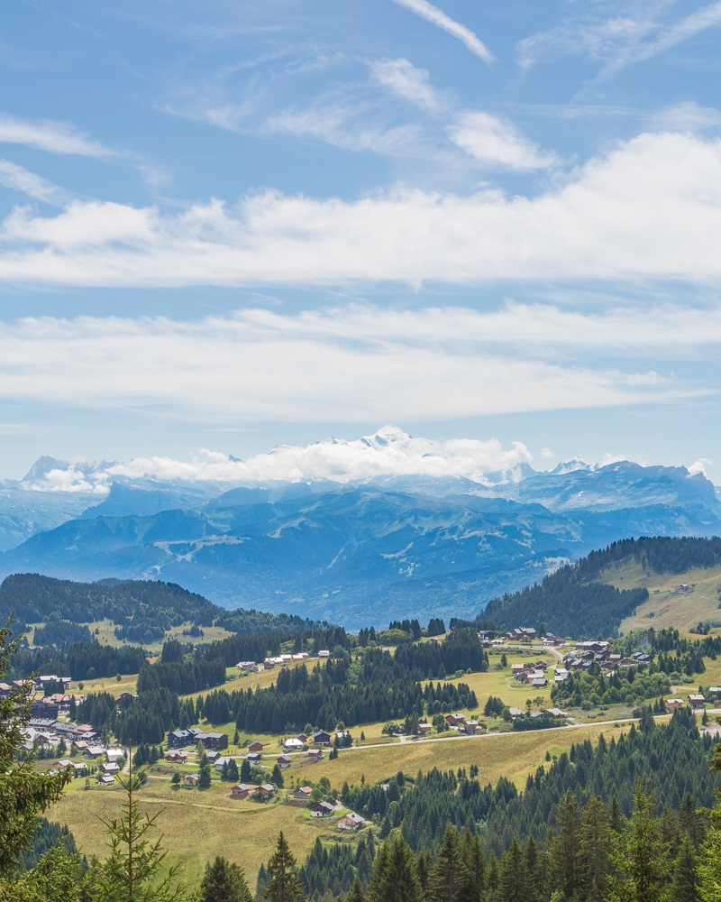 Things to do in Morzine in the Summer - Mont Blanc Views