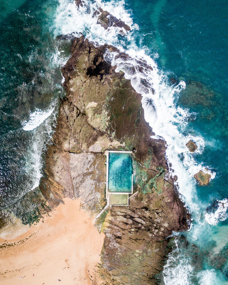 Most photogenic beaches and pools in Sydney: Mona Vale Rockpool