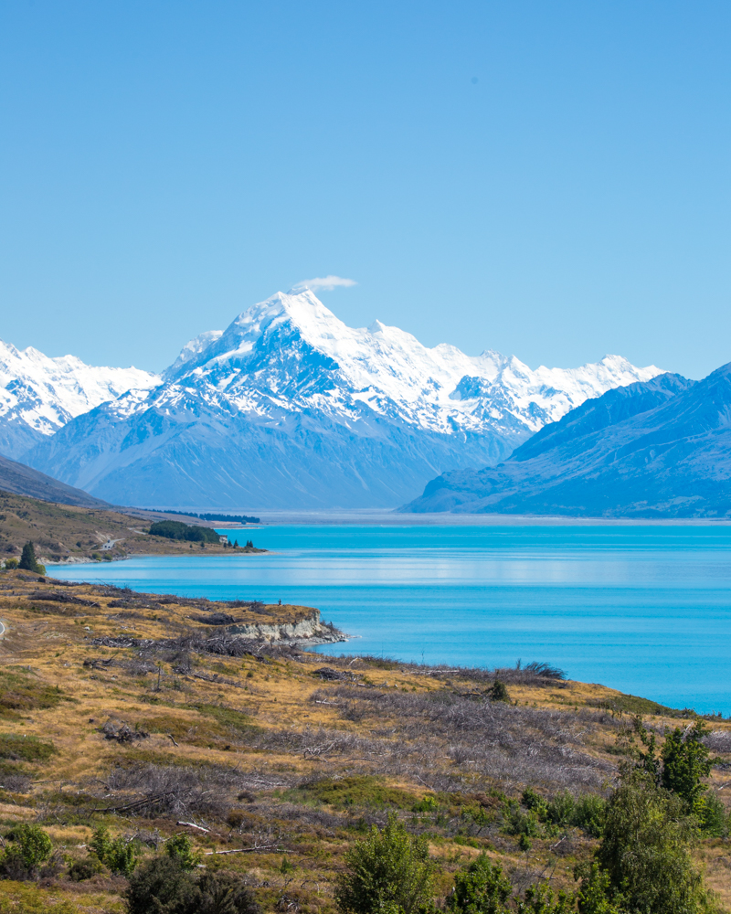 2 week south island road trip: Lake Pukaki