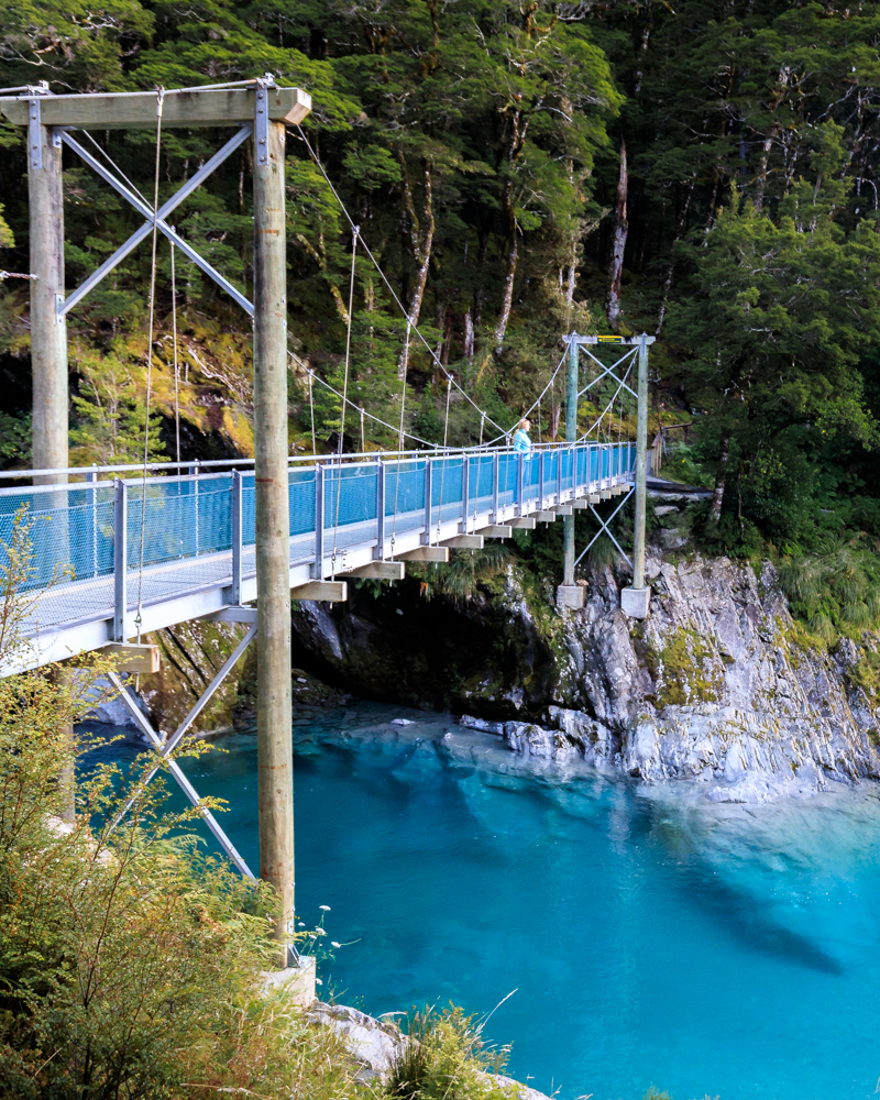 2 week South Island Road Trip: Haast Blue Pools