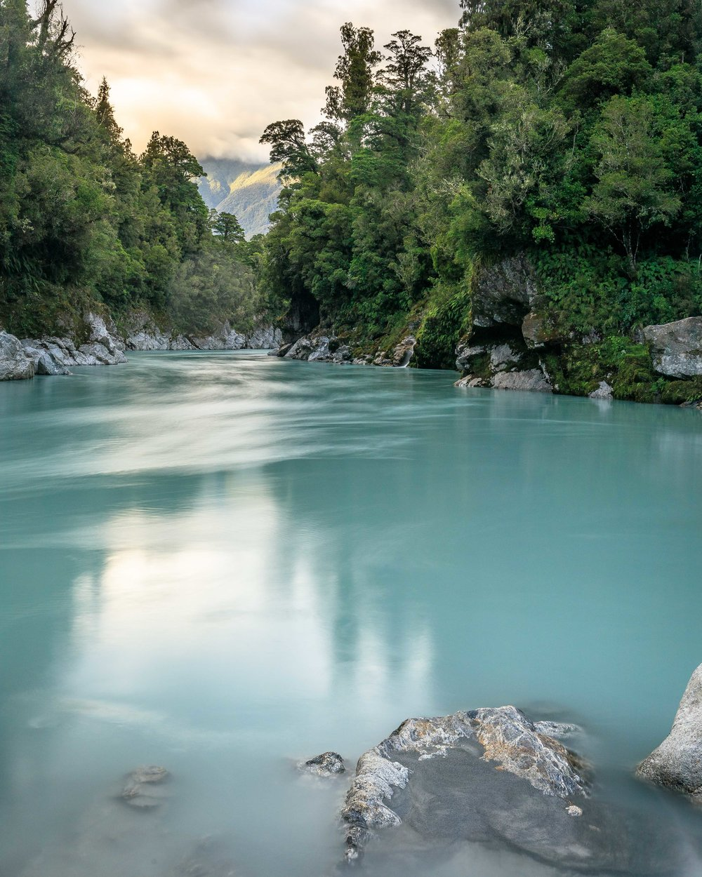 South Island Road Trip: Hokitika Gorge
