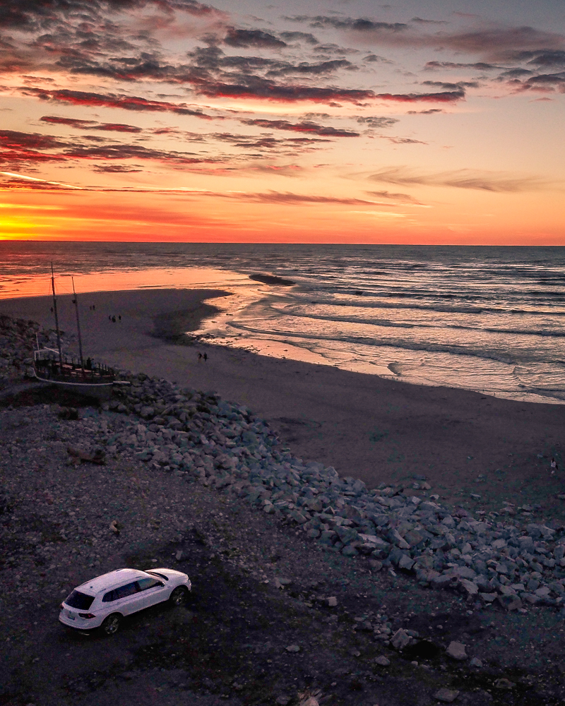 South Island Road Trip: Hokitika Sunset Point
