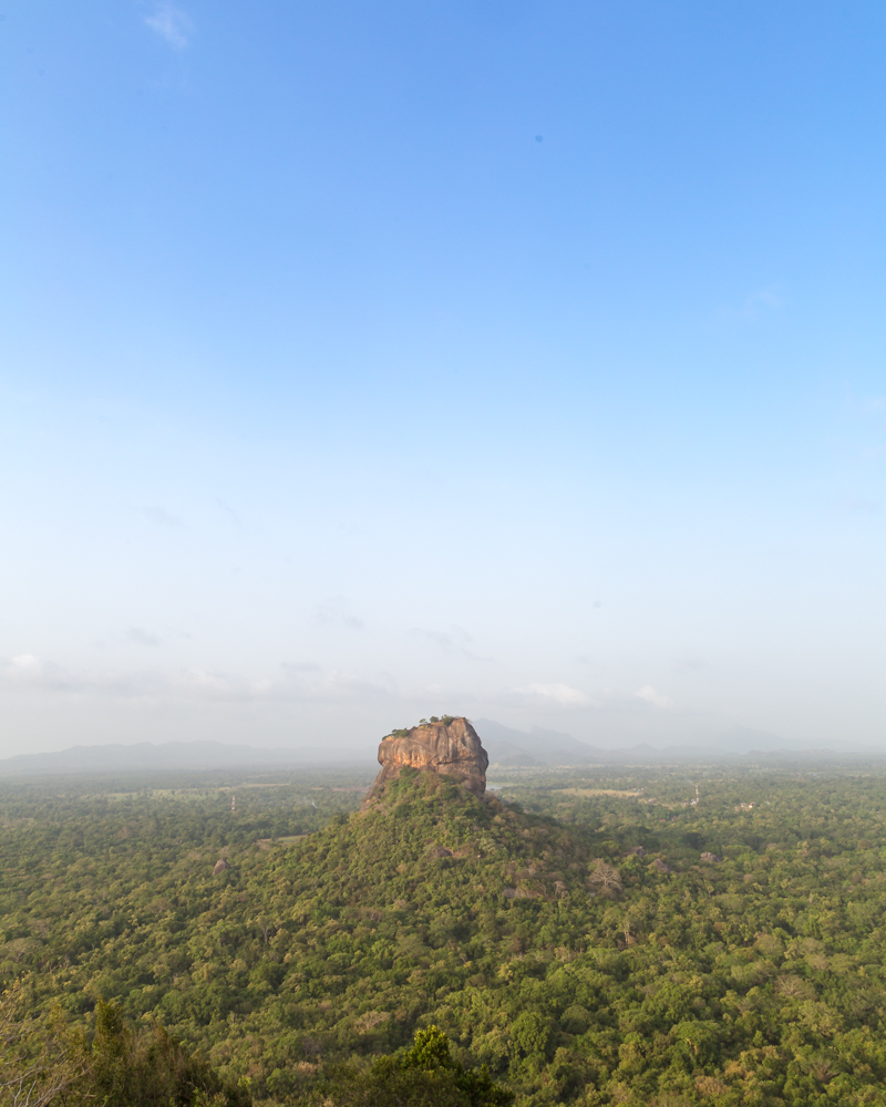 Places to visit in Sri Lanka - Lion Rock