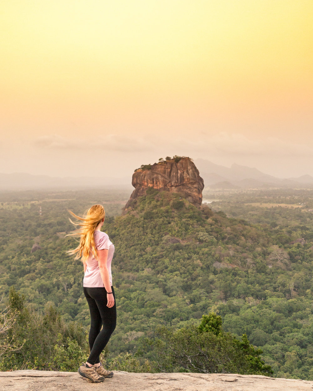 Best places to visit in Sri Lanka - Pidurangala Rock
