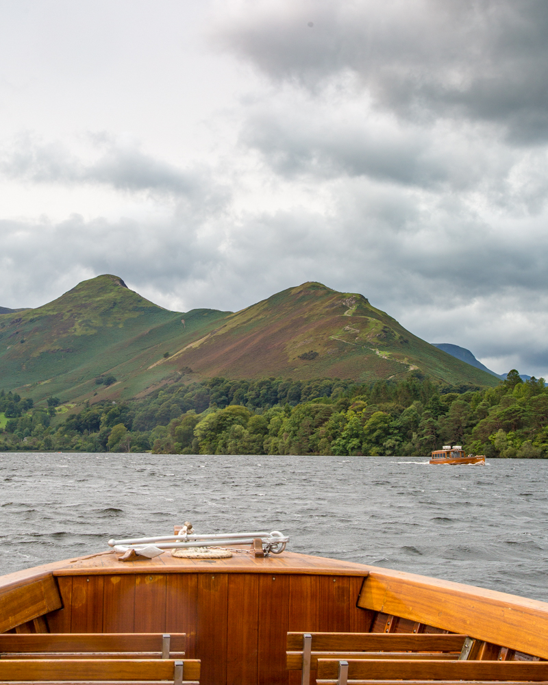 Catbells - The boat from Keswick Launch