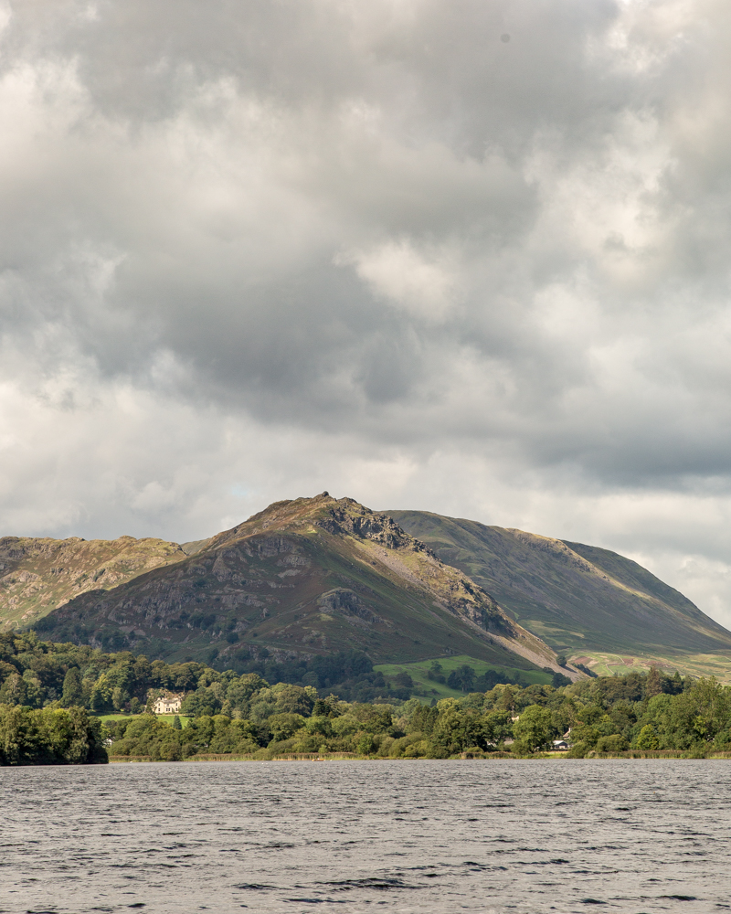 Helm Crag - the view from Grassmere