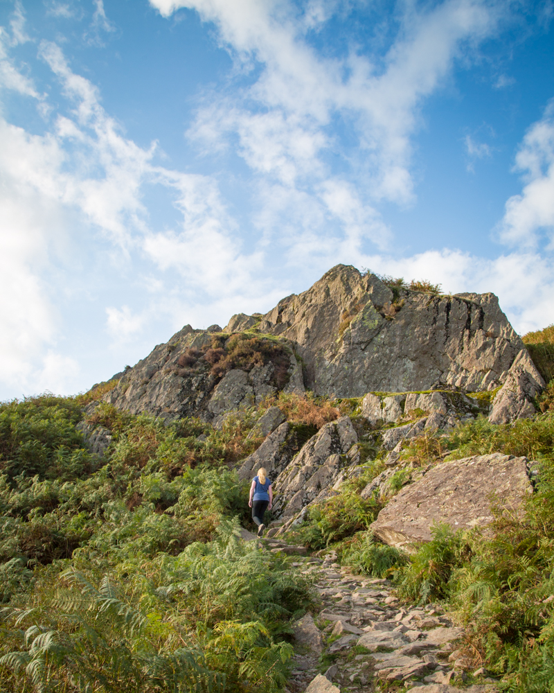 Helm Crag - The Wainwright Route