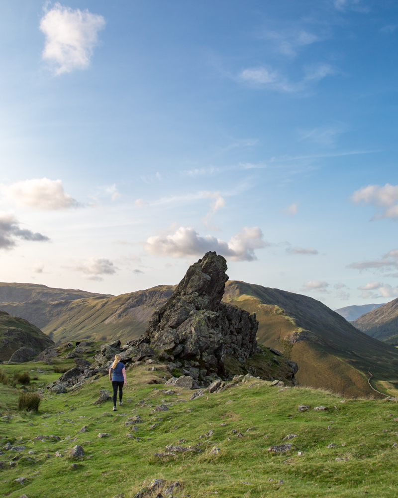 Helm Crag Scramble - The Howitzer