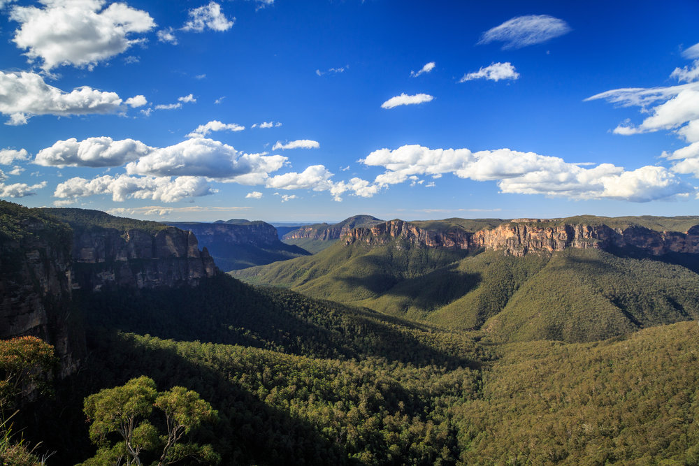 Day trip to the Blue Mountains - Govetts Leap