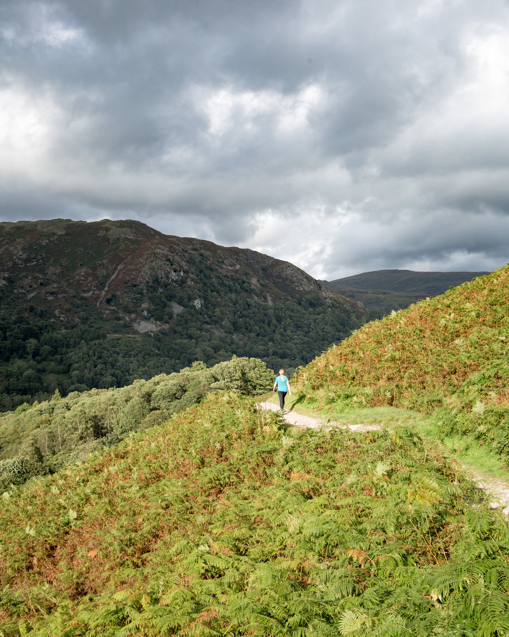 The walk back to Ambleside from Grassmere