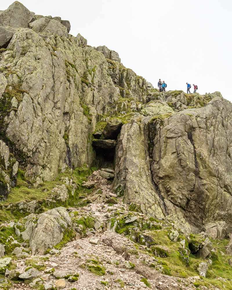 Crinkle Crags avoiding the Bad Step