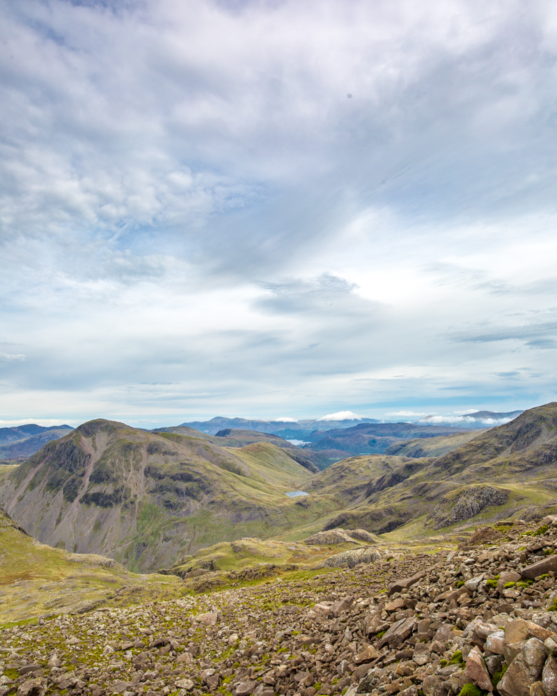 Climbing Scafell Pike - Langdale Valley